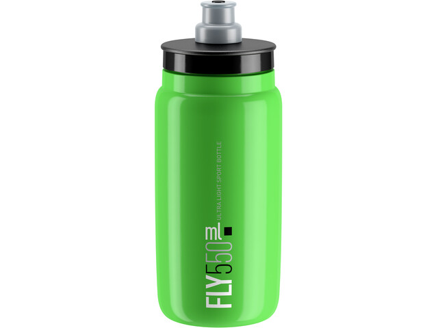 Elite Fly Bidon 0.5 l, green/black logo